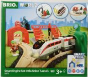 Brio 33873 Smart Engine Set with Action Tunnels